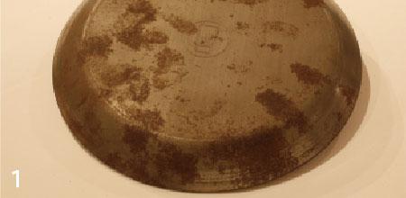 乾燥が不十分だったり長く放置すると鉄はサビます